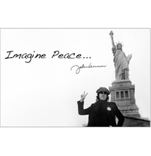 Sticker Skin John Lennon - Liberty