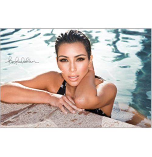 Sticker Skin Kim Kardashian - Pool