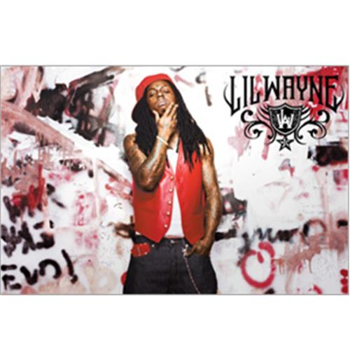 Sticker Skin Lil Wayne - Graffiti