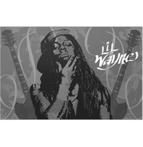 Sticker Skin Lil Wayne - Guitars