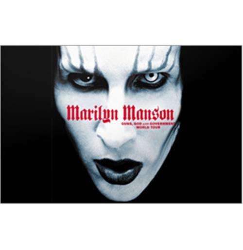 Sticker Skin Marilyn Manson - Manson Guns