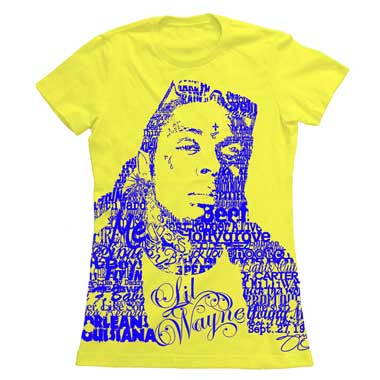 T Shirt Femme Playing With Fire Lil Wayne