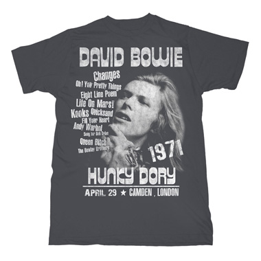 T Shirt Hunky Dory David Bowie