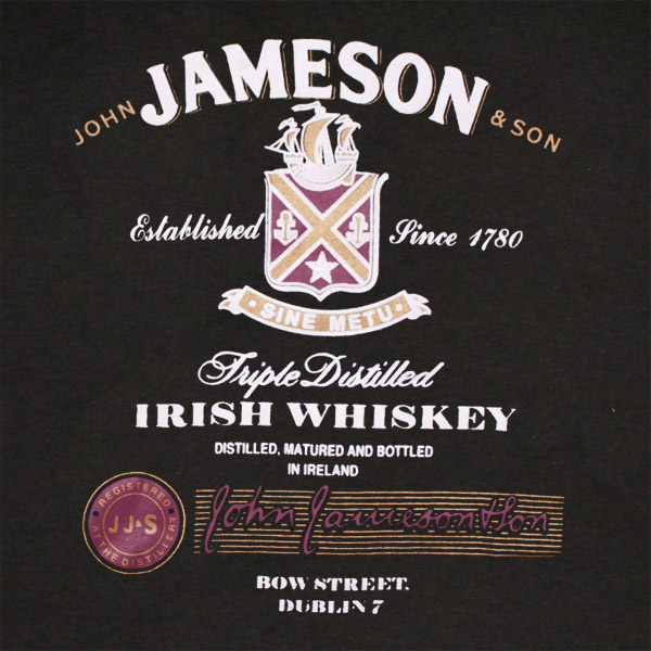Distilled Logo T Triple Shirt Whiskey Boutique Jameson MpSGzVqUL