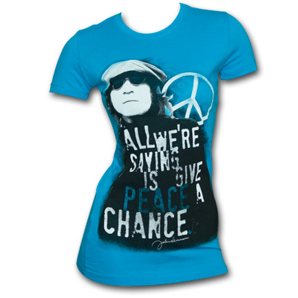 T-shirt John Lennon Give Peace A Chance