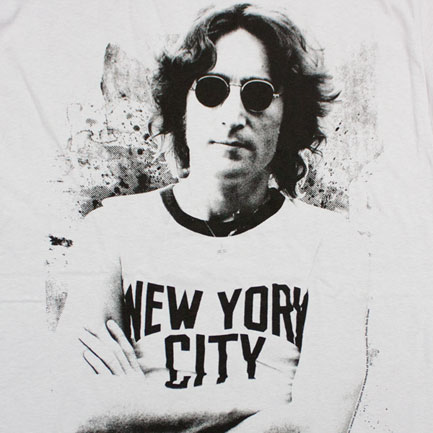T-shirt John Lennon Nyc New York City