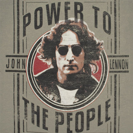 T-shirt John Lennon Power To The People
