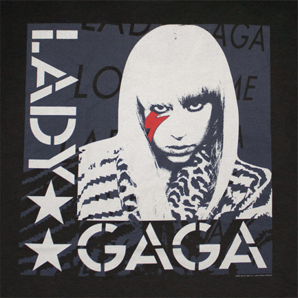 T-shirt Lady Gaga Star Face