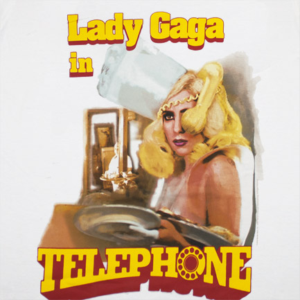 T-shirt Lady Gaga Telephone