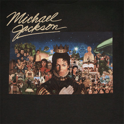 T-shirt Michael Jackson Full Cover Collage