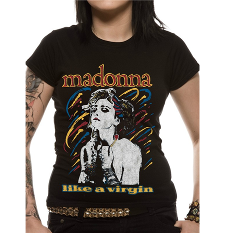 T-shirt Madonna Like A Virgin