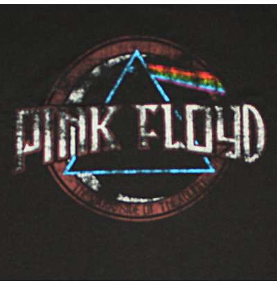 T-shirt Pink Floyd - Faded Seal