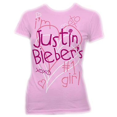 Tee Shirt F Rose Justin Bieber Kisses Xoxo