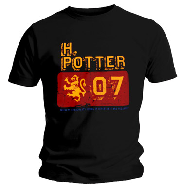 Tee Shirt Harry Potter Hogward