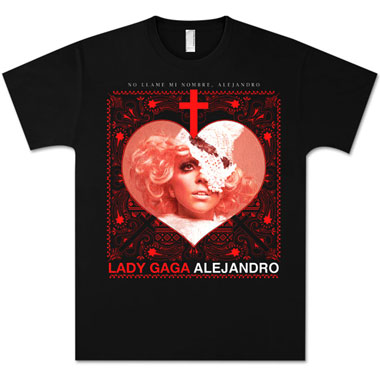 Tee Shirt Lady Gaga Latin Lover