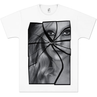 Tee Shirt Lady Gaga Shatter Photo