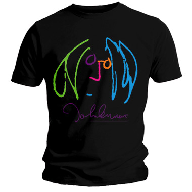 Tee Shirt Back Light John Lennon