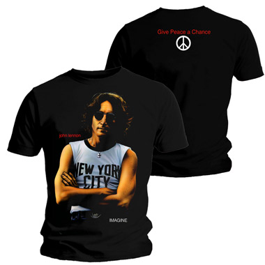 Tee Shirt Gardner Illustration John Lennon