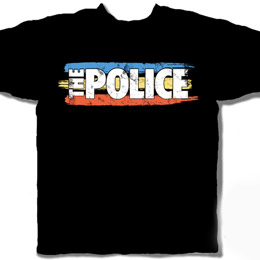 Tee Shirt Police The Striped