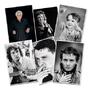 Set de 6 cartes postales Sardou Les Grands Moments