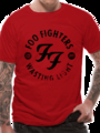 T-shirt Foo Fighters Wasting Time