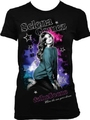 T-shirt Selena Gomez When The Sun Goes Down Black Junior