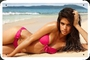 Poster Sara Sampaio Victorias Secret Metal 20x30cm