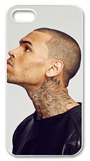 Shinhwa Create Pop Singer Star Chris Brown Hard Plastic Case Cover Fits Iphone 5 5s