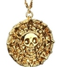 Movie Pirates Of The Caribbean Coin + Octopus-shaped Necklace Set Two Johnny Depp (japan Import)