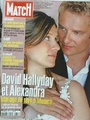 Paris Match - David Hallyday Et Alexandra - 2873
