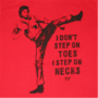T-shirt Chuck Norris - Delta Force Step On Necks