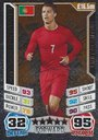 Match Attax England World Cup 2014 Cristiano Ronaldo Bronze Limited Edition