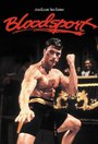 Bloodsport (film) à Jean-claude Van Damme 1988 Movie Poster Approximate Size 11.7