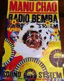 Manu Chao - Radio Bemba - Masque - 40x60 Cm Affiche / Poster