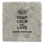 Keep Calm And Love Demis Roussos ? Marbre carrelage Boisson Dessous de Verre