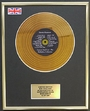 Demis Roussos / Mini Gold Disc Display / Édition LimitÉe / Coa / Forever And Ever The Definitive Collection