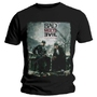 Tee shirt Bad Meets Evil Burnt