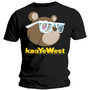 Tee Shirt Kanye West TeddyBear Glasses