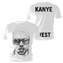 Tee Shirt Kanye West Ink Sketch