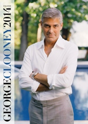 Calendrier George Clooney 2014