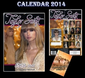 Calendrier Taylor Swift 2014 By Dream + Magnet Taylor Swift De Frigo