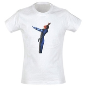 George Michael - Girl Shirt Shiny Suit (in S)