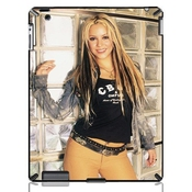 Shakira Isabel Mebarak Ripoll Cas Coquille Pour Ipad 2/4/the New Ipad 3