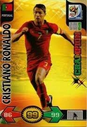 World Cup 2010 Xl Adrenalyn Champions Card Cristiano Ronaldo [toy]