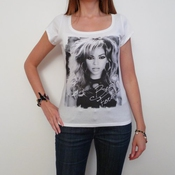 Beyonce T-shirt Short-sleeve Top Celebrity 7015203
