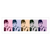 Audrey Hepburn - Reproduction-audrey Hepbu Cigarello (in 95 Cm X 33 Cm)