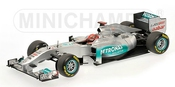 2011 Mercedes Gp Showcar [minichamps 110110077], Michael Schumacher, 1:18 Die Cast