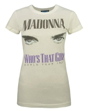 Official Junk Food Madonna Women Who's That Girl Tour 1987 Sugar T Shirt