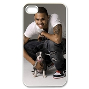 Ctslr Pop Singer Star Series Protective Hard Back Plastic Case Cover For Iphone 4 4s 4g - 1 Pack - Chris Brown - 10