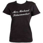 T-shirt Mrs Michael Schumacher By Dead Fresh